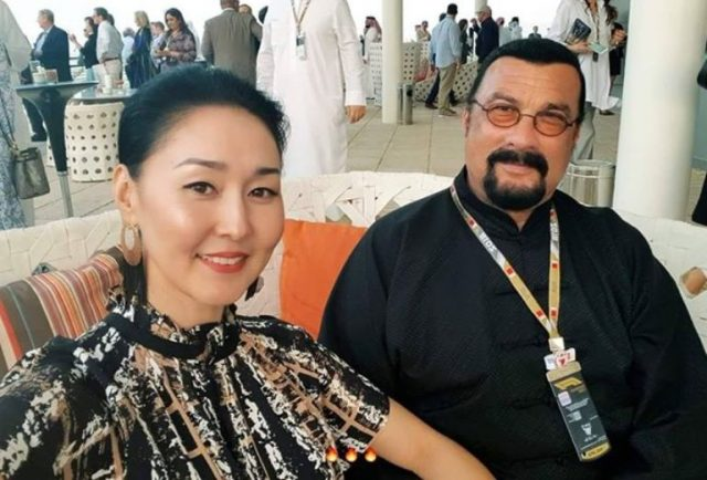 Erdenetuya Seagal Bio & Facts about Steven Seagal's Wife