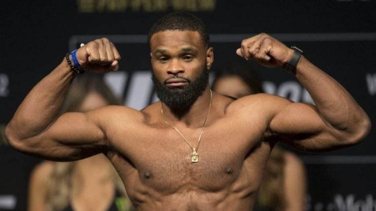 Tyron Woodley Height, Weight, Body Measurements, Wife, Biography