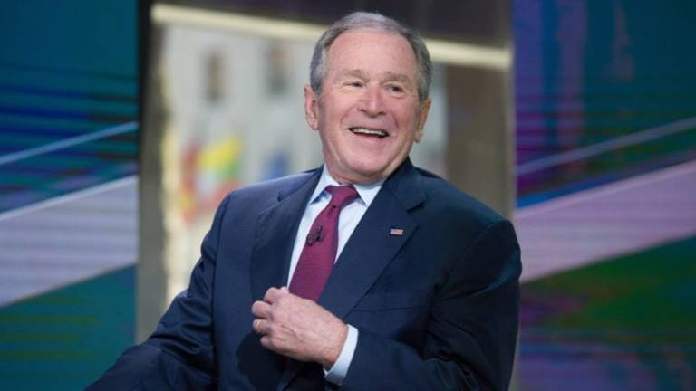 Biography of George W. Bush – The 43rd U.S. President, His Net Worth, Wife and Kids